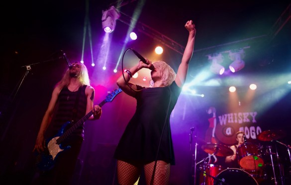 Royal Distortion @ Whiskey A Go-Go 5/28/18. Photo by Derrick K. Lee, Esq. (@Methodman13) for www.BlurredCulture.com.