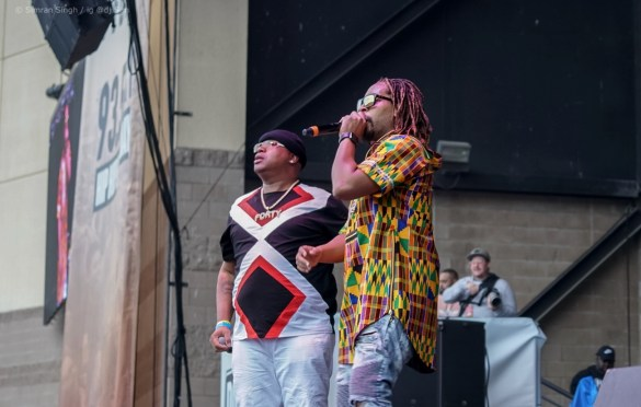E-40 w/ Lil Jon @ Powerhouse 2018 @ The Glen Helen Amphitheater 5/12/18. Photo by Simran Singh (@dj.sim) for www.BlurredCulture.com.