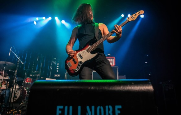 Worriers @ The Fillmore 6/9/18. Photo by Pat Gilrane Photo (@njpatg) for www.BlurredCulture.com.