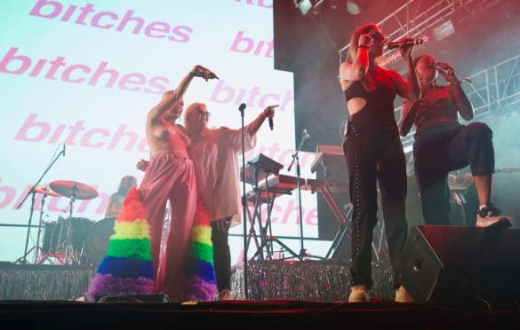 Tove Lo @ LA! Pride 6/10/18. Photo by Derrick K. Lee, Esq. (@Methodman13) for www.BlurredCulture.com.