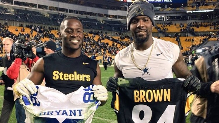 Antonio Brown Recruits Dez Bryant To Steelers Blurred Culture