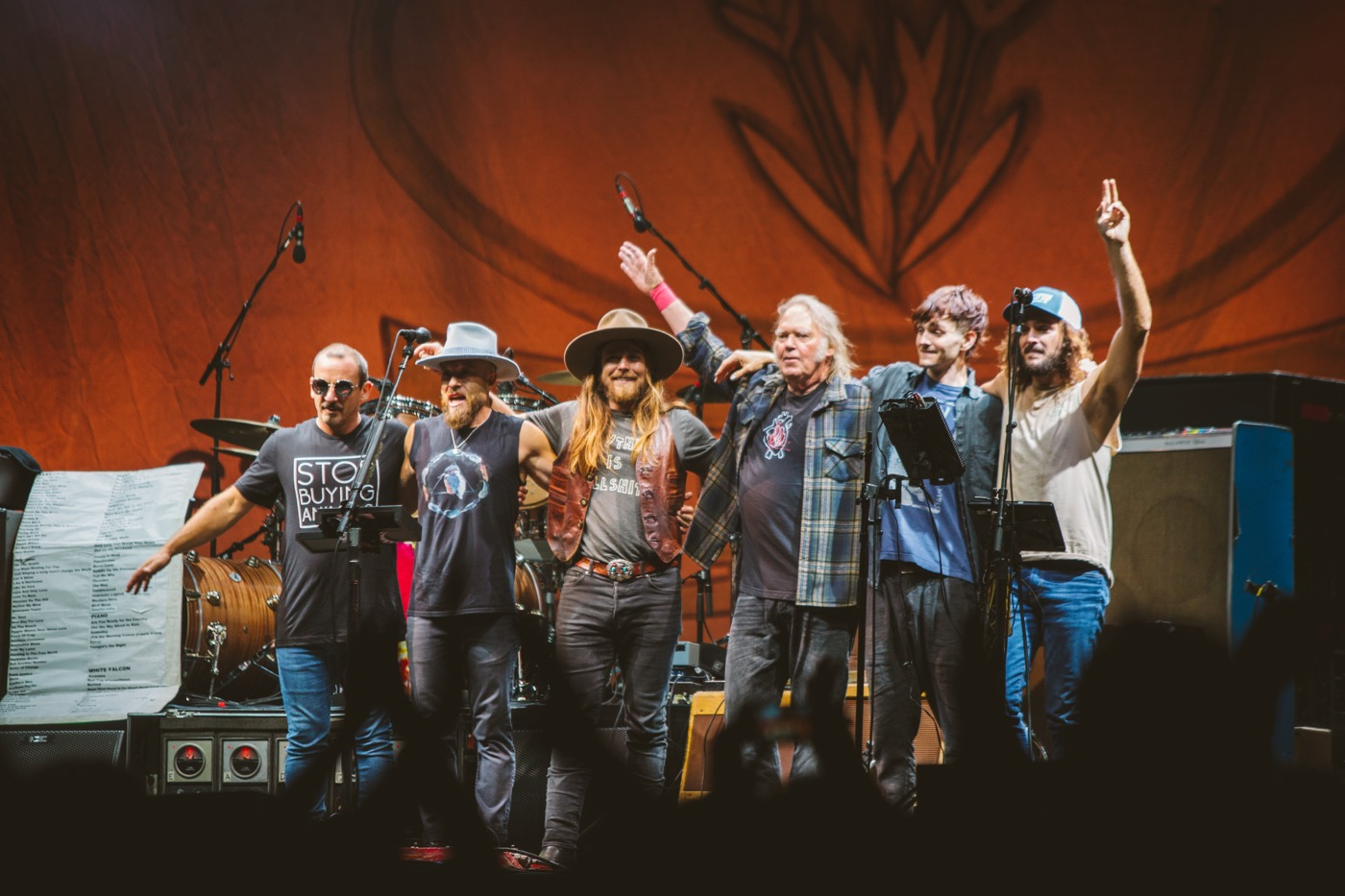 Neil Young + Promise of the Real @ Arroyo Seco Weekend 6/23/18. Photo courtesy of Goldenvoice. Used with permission.