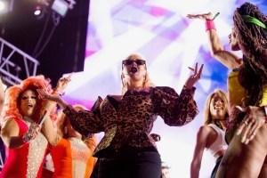 Christina Aguilera @ LA! Pride 6/10/18. Photo by Derrick K. Lee, Esq. (@Methodman13) for www.BlurredCulture.com.