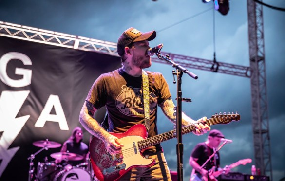 The Gaslight Anthem @ Stone Pony 8/18/18. Photo by Pat Gilrane Photo (@njpatg) for www.BlurredCulture.com.