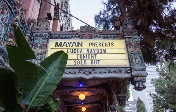 Lucha Vavoom Summer Lovin' @ The Mayan 7/26/18. Photo by Derrick K. Lee, Esq. (@Methodman13) for www.BlurredCulture.com.