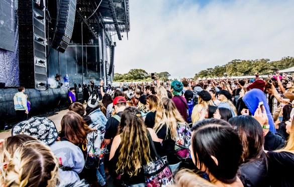 Billie Eilish @ Outside Lands Music And Arts Festival 8/10/18. Photo by Derrick K. Lee, Esq. (@Methodman13) for www.BlurredCulture.com.