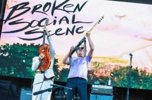 Broken Social Scene @ Outside Lands Music And Arts Festival 8/11/18. Photo by Derrick K. Lee, Esq. (@Methodman13) for www.BlurredCulture.com.