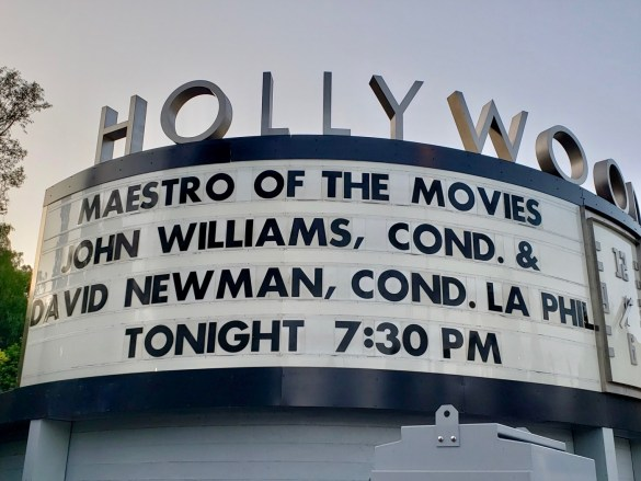 """Maestro of the Movies"" @ Hollywood Bowl featuring John Williams, Cond. & David Newman, Cond. w/ L.A. Phil 9/2/18. Photo by Level With Music (@LevelWithMusic) for www.BlurredCulture.com."