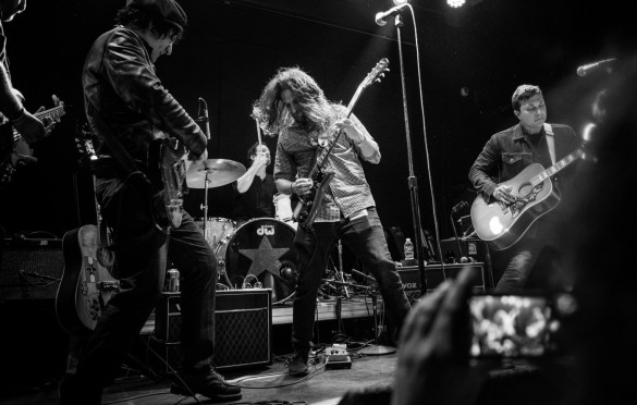 Frank Iero (My Chemical Romance) + Evan Nestor @ Bowery Ballroom for