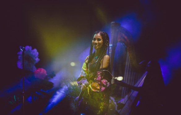 Jhene Aiko for All My Friends @ Row DTLA 8/18/18.  Photo by Summer Dos Santos (@SummerDosSantos) for www.BlurredCulture.com.