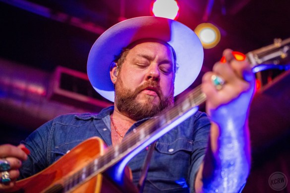 Nathaniel Rateliff Night Sweats @ KCRW'S Apogee Sessions 8/15/18. Photo by Dustin Downing. Courtesy of KCRW. Used with permission.