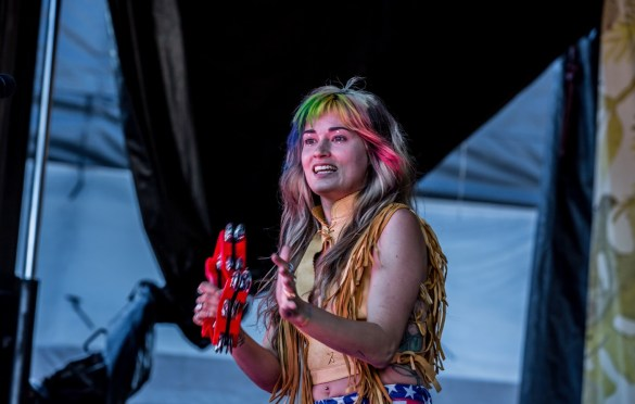 Lauren Ruth Ward @ The Ohana Fest 9/29/18. Photo by Derrick K. Lee, Esq. (@Methodman13) for www.BlurredCulture.com.