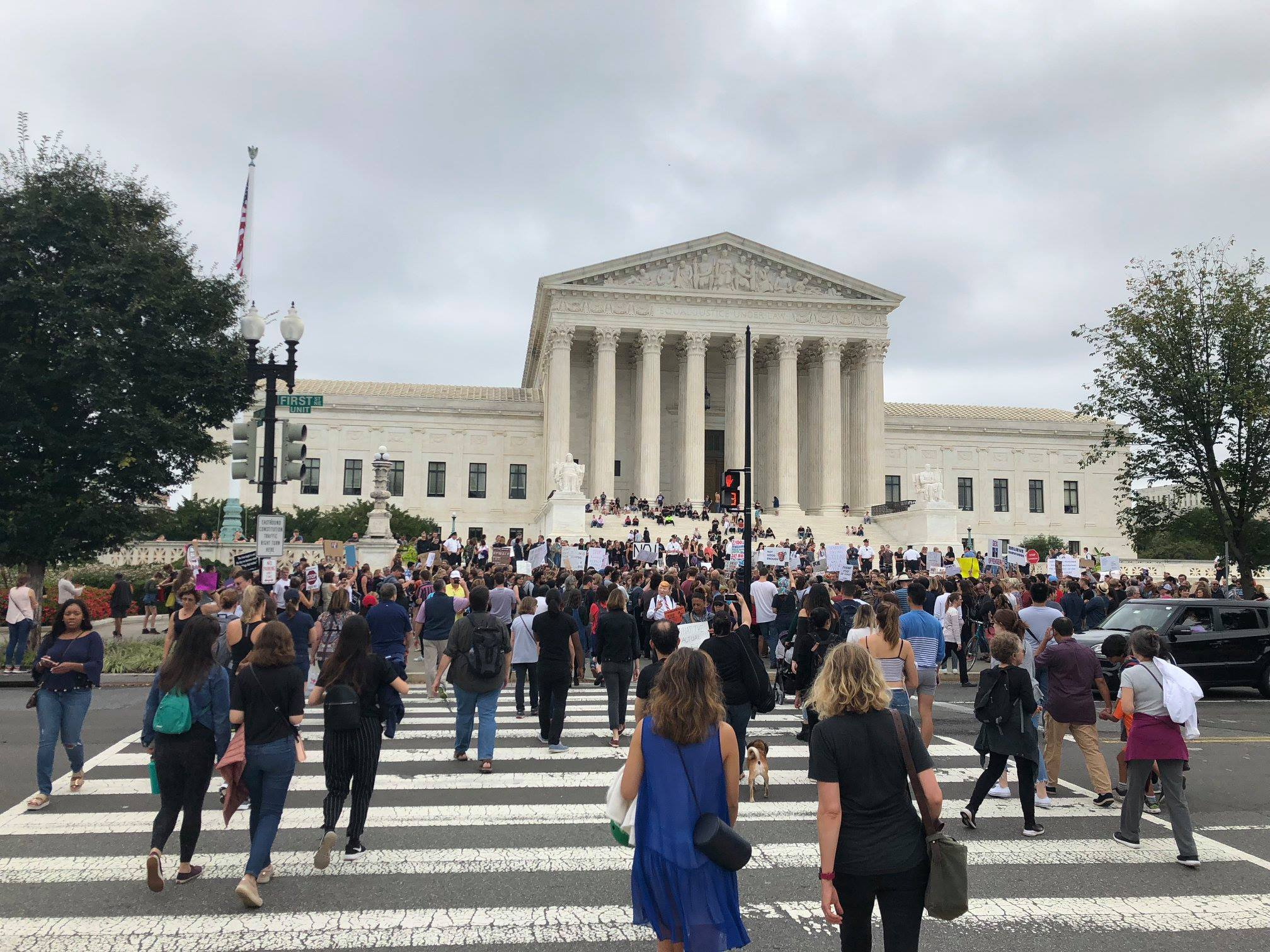 Supreme Court Of The United States 10/6/18. Photo by Scott Burstein. Used with permission.