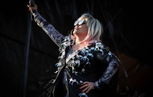 Blondie @ Sea.Hear.Now 2018 9/29/18. Photo by Pat Gilrane Photo (@njpatg) for www.BlurredCulture.com.