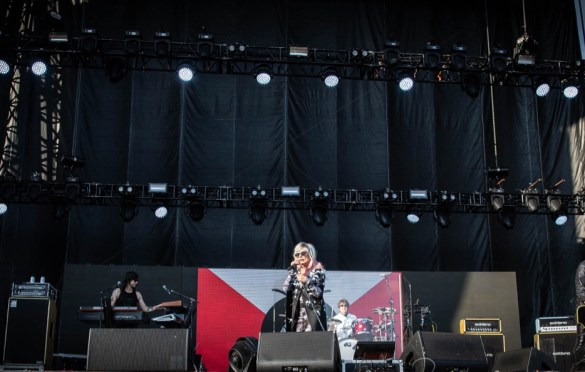 Blondie @ Sea.Hear.Now 2018 9/29/18. Photo by Pat Gilrane Photo (@njpatg) for www.BlurredCulture.com.