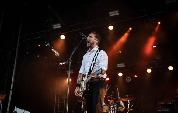 Frank Turner & The Sleeping Souls @ Sea.Hear.Now 2018 9/29/18. Photo by Pat Gilrane Photo (@njpatg) for www.BlurredCulture.com.