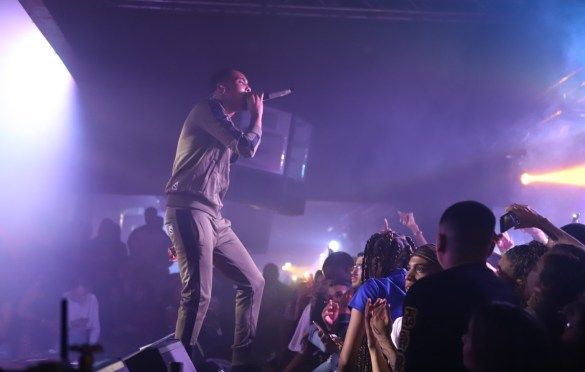 G Herbo @ Union Nightclub 11/7/18. Photo by Alana Hillman (@Lanz.La) for www.BlurredCulture.com.