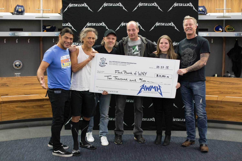 Metallica @ Keybank Center 10/27/18.