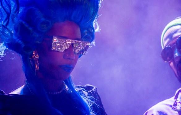 Santigold at KCRW's Masquerade Ball @ Historic Los Angeles Theatre 10/27/18. Photo by Derrick K. Lee, Esq. (@Methodman13) for www.BlurredCulture.com.
