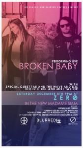 Broken Baby @ Madame Siam