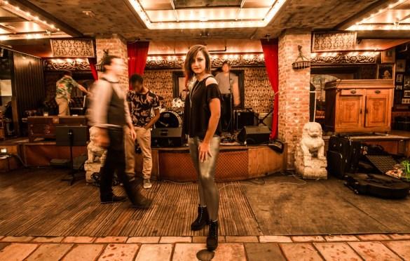 Masha Alexis, Portrait @ Madame Siam 11/3/18. Photo by Derrick K. Lee, Esq. (@Methodman13) for www.BlurredCulture.com.