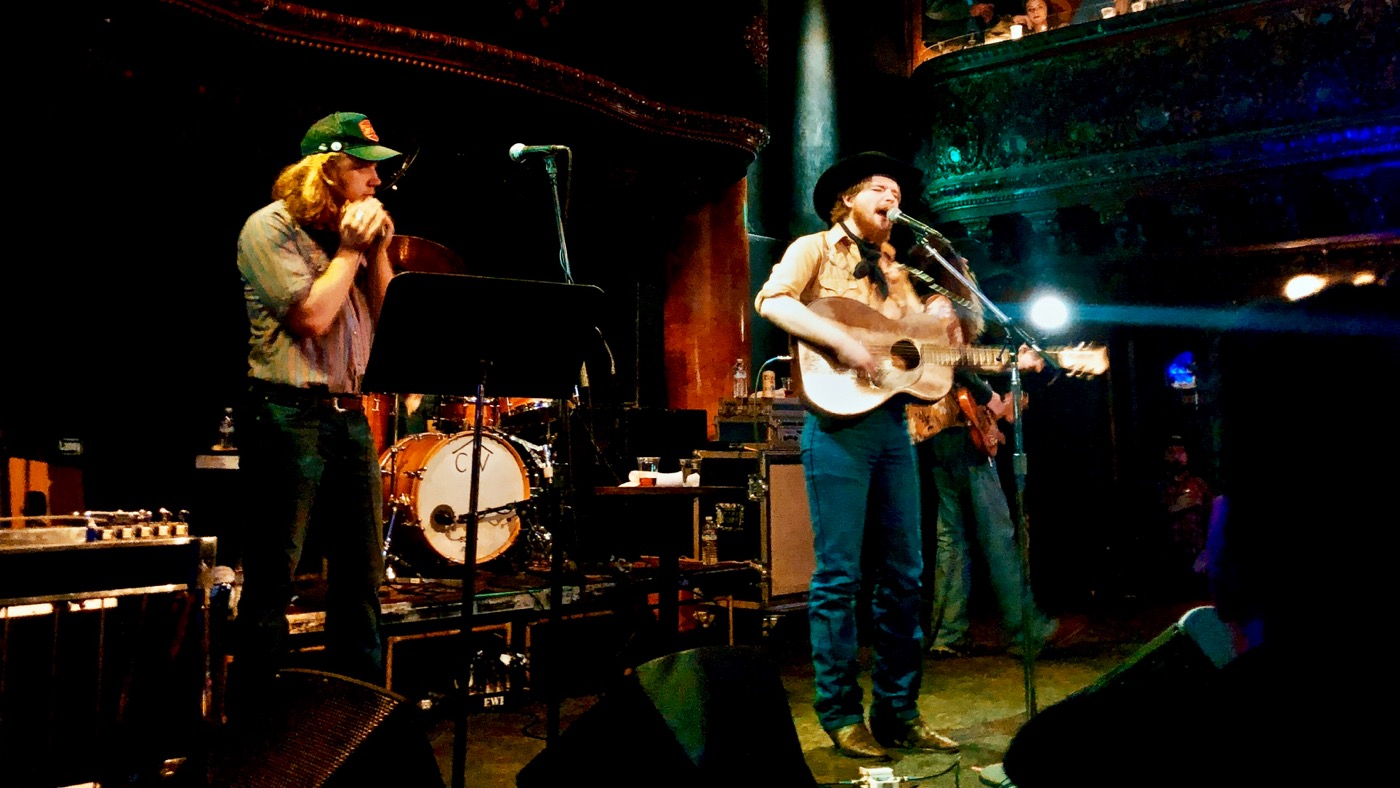 Colter Wall @ Great American Music Hall 1/23/19. Photo by Dana Rose (@DefinitelyRocketScience) for www.BlurredCulture.com.