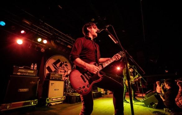 Anti-Flag @ Starland Ballroom 2/22/19. Photo by Pat Gilrane Photo (@njpatg) for www.BlurredCulture.com.