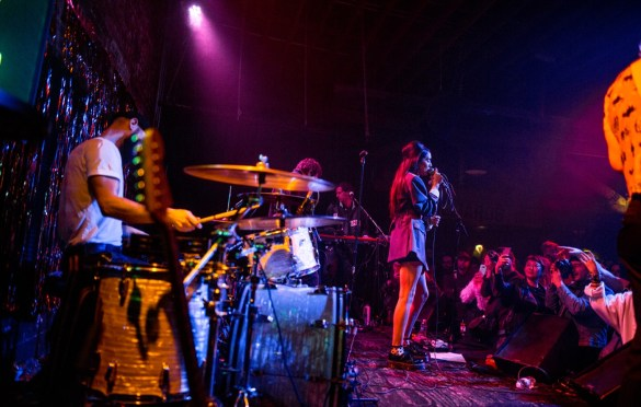 Jesse Jo Stark @ The Hi Hat 2/14/19. Photo by Derrick K. Lee, Esq. (@Methodman13) for www.BlurredCulture.com.