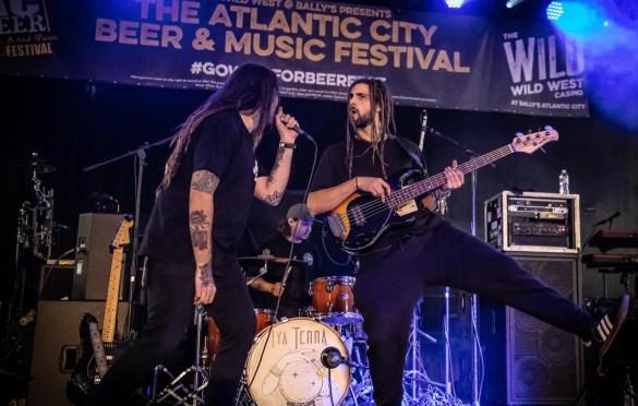 Iya Terra @ The Atlantic City Beer & Music Festival 3/30/19. Photo by Pat Gilrane Photo (@njpatg) for www.BlurredCulture.com.