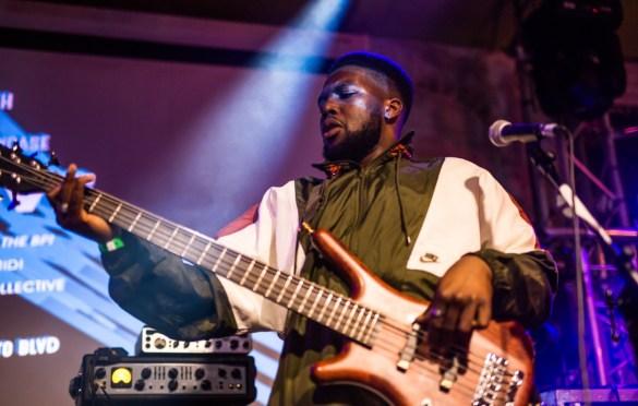 Ezra Collective at SXSW presented by ATC Live/British Music Embassy @ Latitude 30 3/12/19. Photo by Derrick K. Lee, Esq. (@Methodman13) for www.BlurredCulture.com.