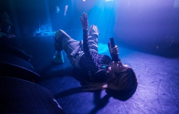 Tommy Genesis @ The Moroccan Lounge 3/29/19. Photo by Derrick K. Lee, Esq. (@Methodman13) for www.BlurredCulture.com.