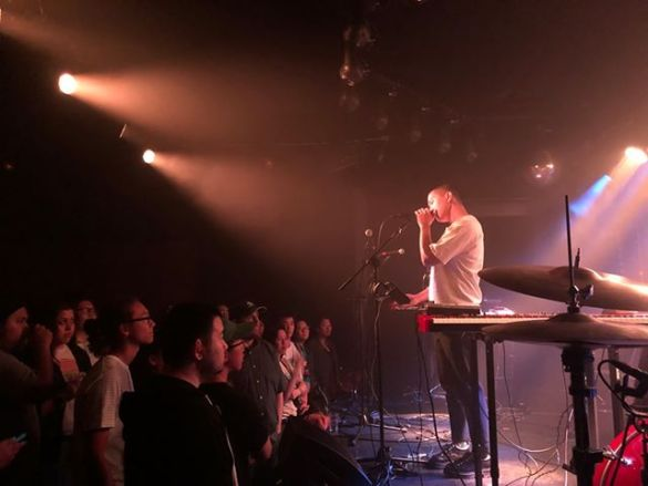 Common Souls @ The Moroccan Lounge 4/26/19. Photo courtesy of the artist. Used with permission.