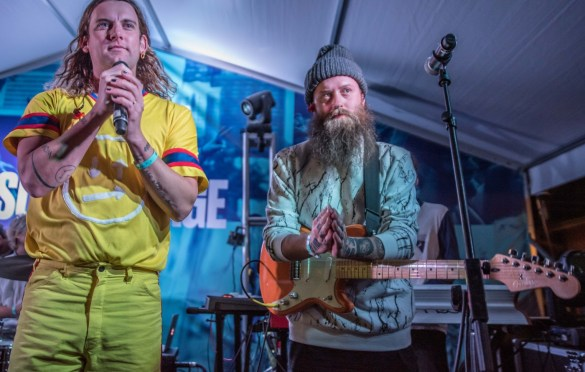 Judah & The Lion @ for StubHub Soundstage at SXSW 3/14/19. Photo by Mike Golembo (@Instalembo) for www.BlurredCulture.com.