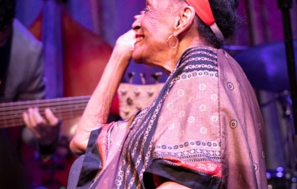 Omara Portuondo at the Regent Theater 4/19/19. Photo by Adriana Delgado (@a.lucreciad) for www.BlurredCulture.com.
