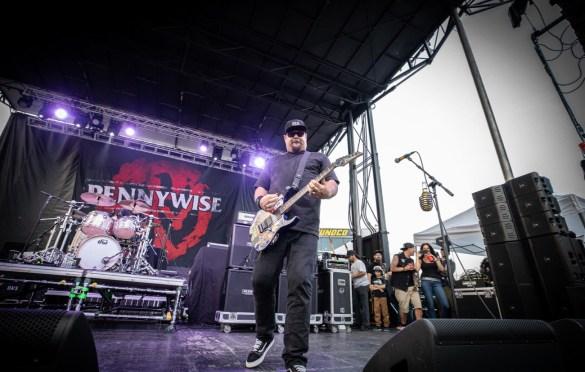 Pennywise @ The Bash Festival (Englishtown, NJ) 6/2/19. Photo by Pat Gilrane Photo (@njpatg) for www.BlurredCulture.com.