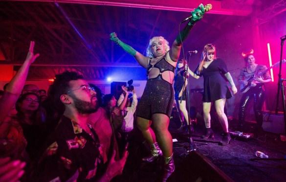 Jen Awad @ The House Of Machines 5/24/19. Photo by Derrick K. Lee, Esq (@Methodman13) for www.BlurredCulture.com.