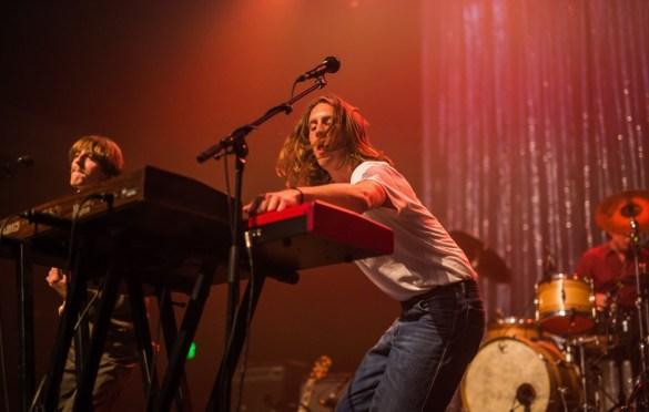 Parcels @ Fonda Theatre 4/18/19. Photo by Derrick K. Lee, Esq (@Methodman13) for www.BlurredCulture.com.