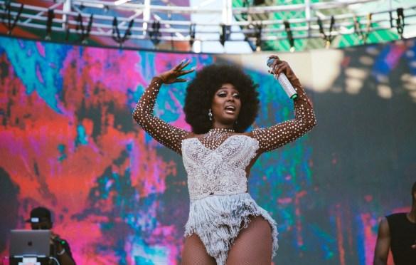 Amara La Negra @ LA! Pride 6/9/19. Photo by Summer Dos Santos (@SummerDosSantos) for www.BlurredCulture.com.