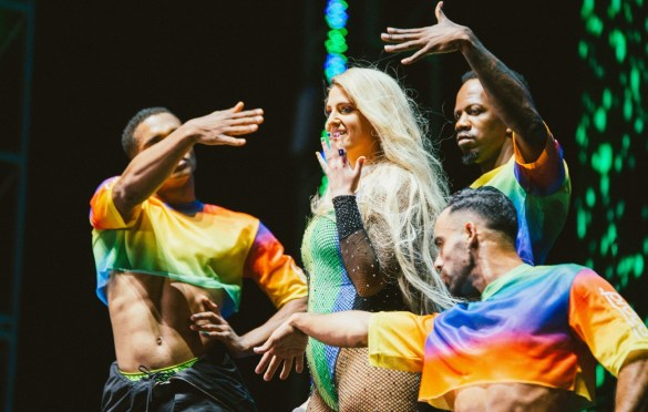 Meghan Trainor @ LA! Pride 6/8/19. Photo by Summer Dos Santos (@SummerDosSantos) for www.BlurredCulture.com.