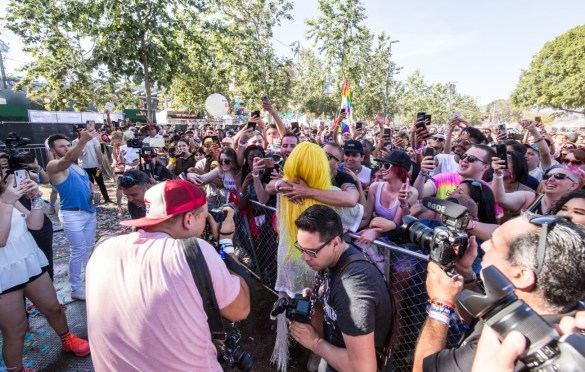 LA! Pride. Atmosphere 6/9/19. Photo by Derrick K. Lee, Esq. (@Methodman13) for www.BlurredCulture.com.