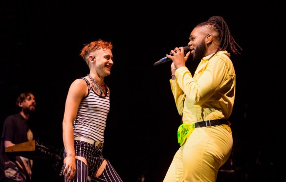 Years & Years and MNEK @ LA! Pride 6/9/19. Photo by Derrick K. Lee, Esq. (@Methodman13) for www.BlurredCulture.com.