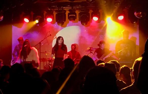 Anna Akana @ The Moroccan Lounge 7/24/19. Photo by Rachel Ann Cauilan (@Rachelcansea) for www.BlurredCulture.com.