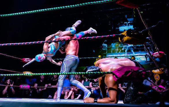 Lucha Vavoom @ The Mayan 8/8/19. Photo by Cortney Armitage (@CortneyArmitage) for www.BlurredCulture.com.