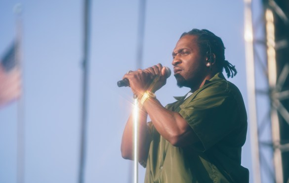 Pusha T @ Pitchfork Music Festival 7/19/19. Photo by Aubrey Wipfli (@aubreyy) for www.BlurredCulture.com.