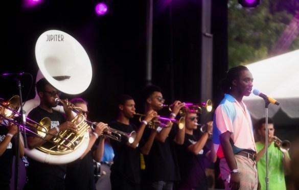Ric Wilson @ Pitchfork Music Festival 7/20/19. Photo by Aubrey Wipfli (@aubreyy) for www.BlurredCulture.com.