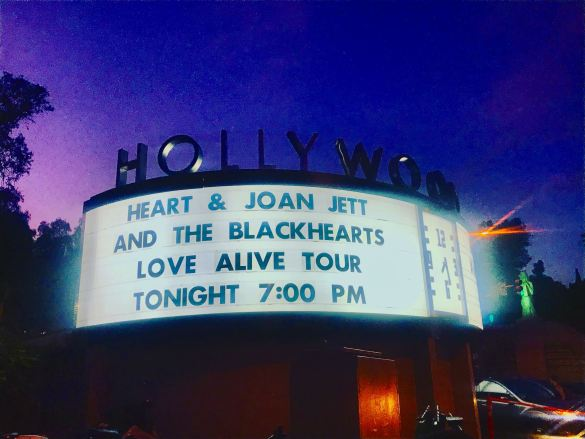 """Heart on the """"Love Alive Tour""""."""