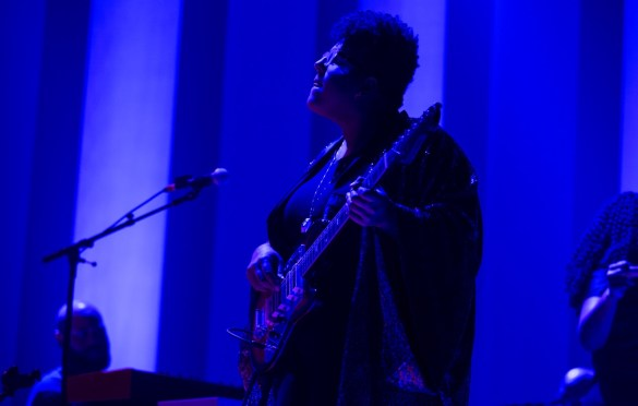 Brittany Howard @T he Theatre At Ace Hotel 10/9/19. Photo by Sonya Singh (@Sonyacansingh) for www.BlurredCulture.com.
