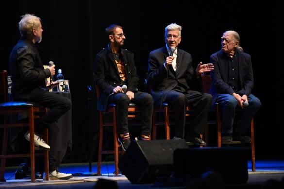 Ringo Starr in Conversation with David Lynch & Henry Diltz @ Saban Theatre 10/29/19. Photo by Nikki Kreuzer (@Lunabeat) for www.BlurredCulture.com.