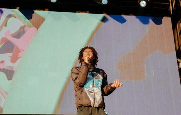 Lil Tecca @ Day N Vegas 11/2/19. Photo by Ian Zamorano (@ChamoIsDead) for www.BlurredCulture.com.