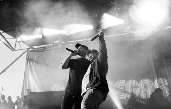 Xavier & Eddie Baker @ Day N Vegas 11/1/19. Photo by Ian Zamorano (@ChamoIsDead) for www.BlurredCulture.com.